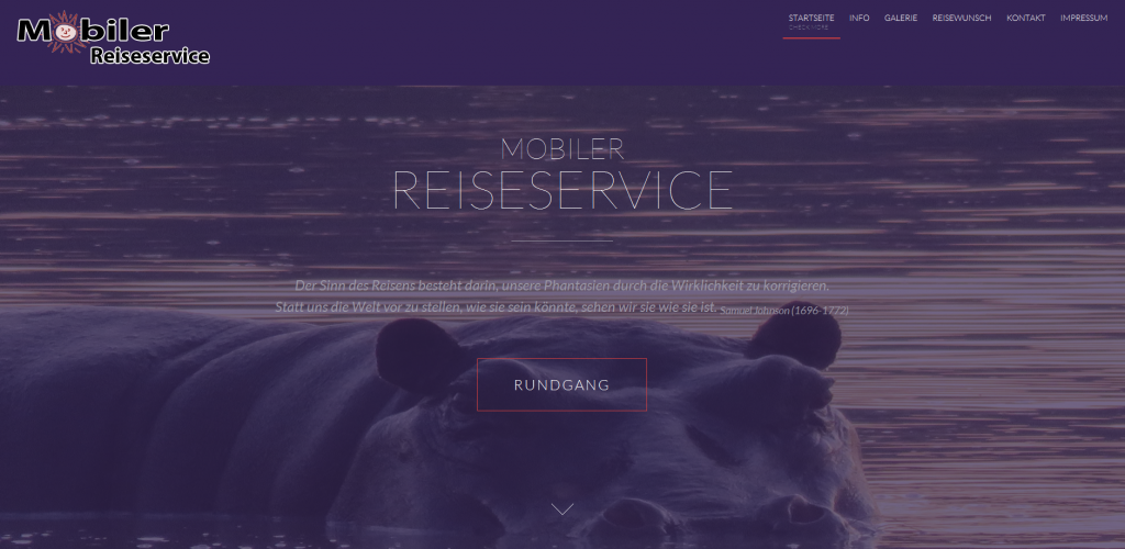 Mobiler Reiseservice
