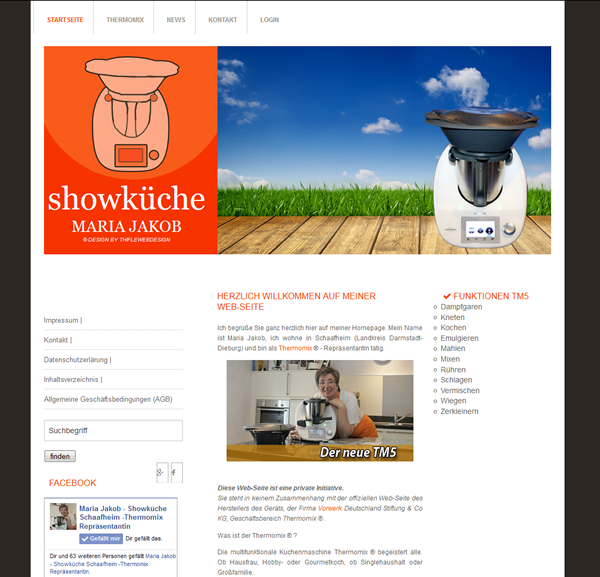 Maria Jakob – Showküche Schaafheim – Thermomix® Repräsentantin