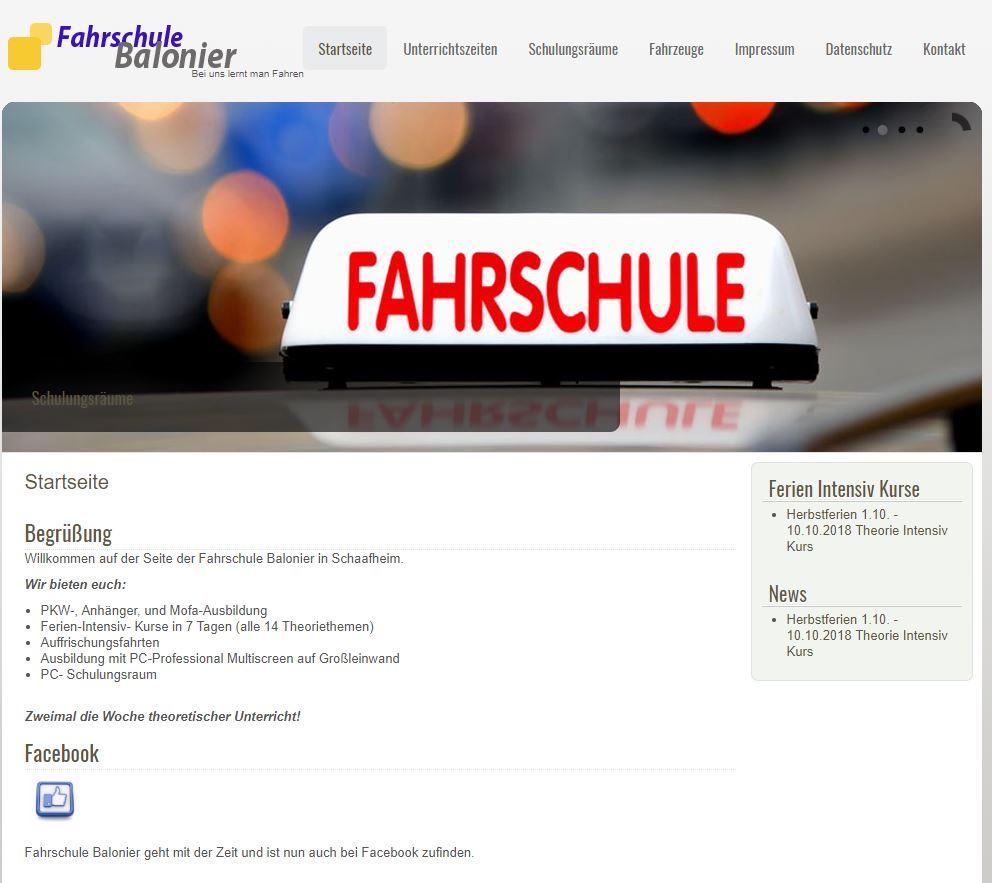 Fahrschule Balonier Schaafheim